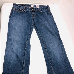 Lucky Brand Jeans Straight Leg Dungarees Sz 8/29